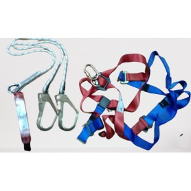FULL BODY HARDNESS & ACCESSORIES (double lanyard)