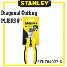 "STANLEY 6"" DIAGONAL CUTTING PLIERS"