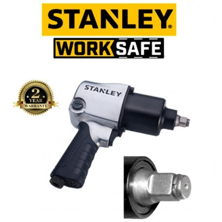 """STANLEY 1/2 """" IMPACT WRENCH 610N-M (450FT-IBS))"""