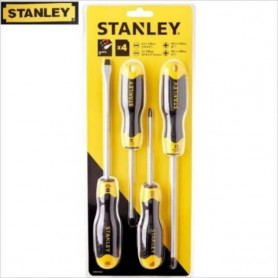 STANLEY 4 PCS C/GRIP SCREWDRIVER SET