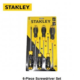 STANLEY 6 PCS C/GRIP SCREWDRIVER SET