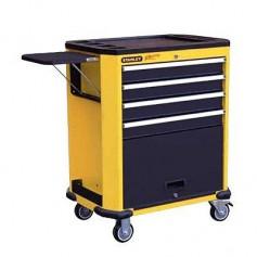 STANLEY Roller Cabinet + Accessories (135 pcs) + Foam Cut
